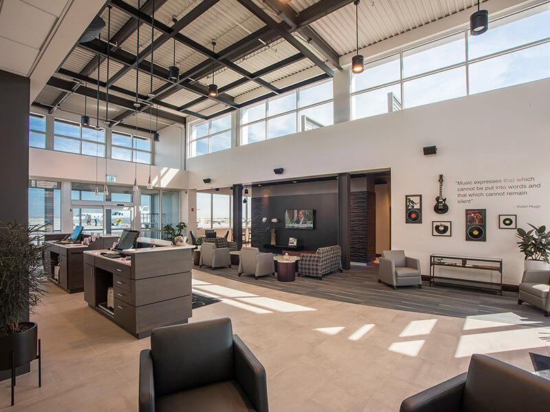 Signature BKL | Fixed Base Operator (FBO) at Cleveland Burke